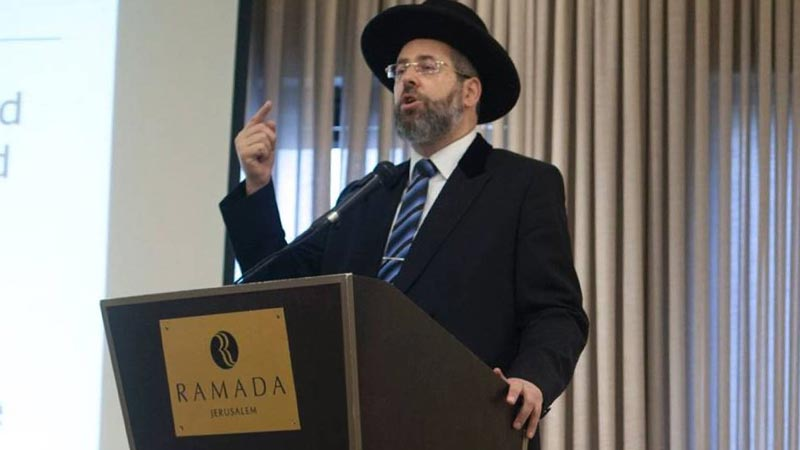 Jerusalem Sexual Abuse conference - Rabbi Lau