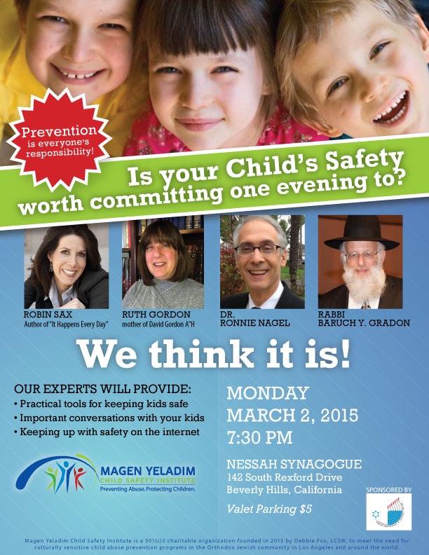 MY Child Safety Institute March 2, 2015 Event